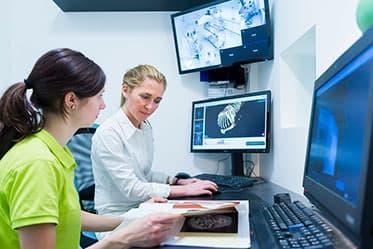 Tierarzt Besserer: Bildgebende Diagnostik - Befundung